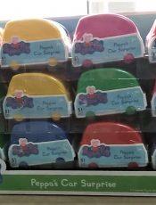 Peppa Pig – Peppas car surprise toys [Unboxing a 24 pack!]